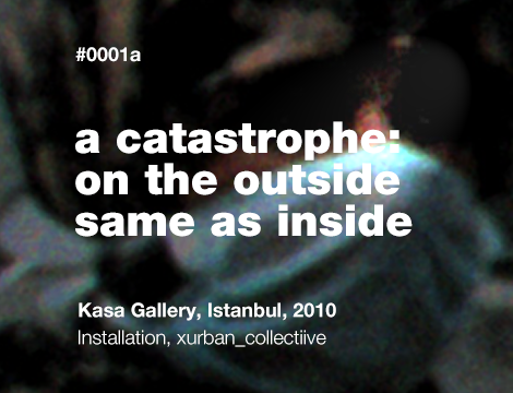 A Catastrophe: On the Outside Same as Inside