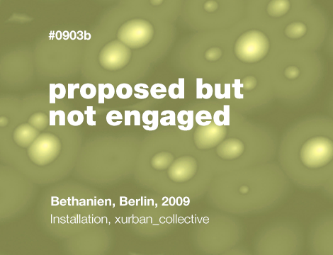 Proposed but Not Engaged