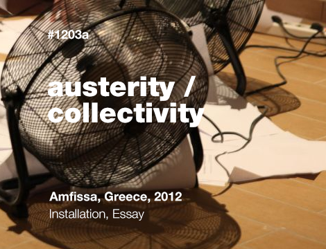 Austerity / Collectivity
