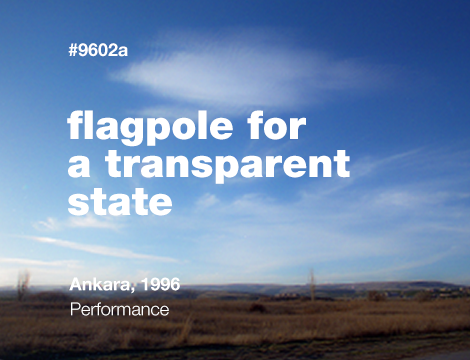 Flagpole for a Transparent State