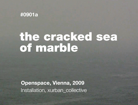 The Cracked Sea of Marble