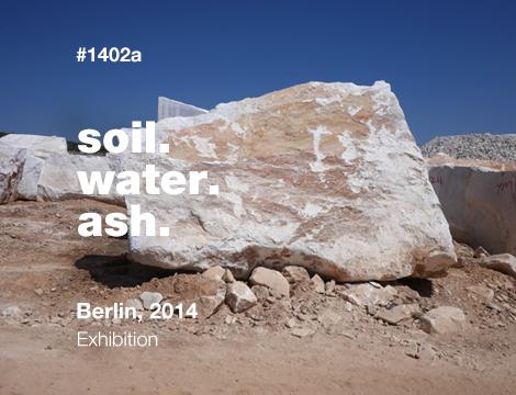 Soil. Water. Ash.