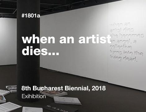 when an artist dies…